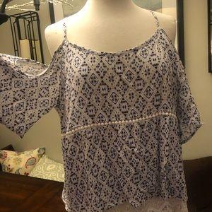 Tops - Stitch fix cold shoulder blouse